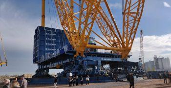 Sarens представил самый большой кран на планете Земля – SGC 250!